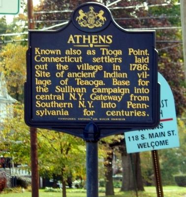 Athens Marker image. Click for full size.