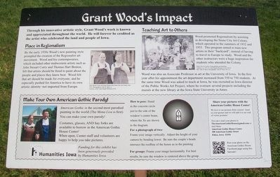 Grant Wood's Impact Marker image. Click for full size.
