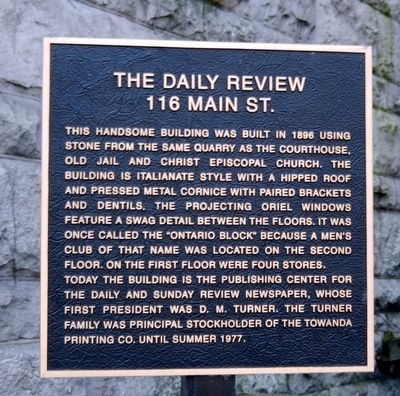 The Daily Review Marker image. Click for full size.
