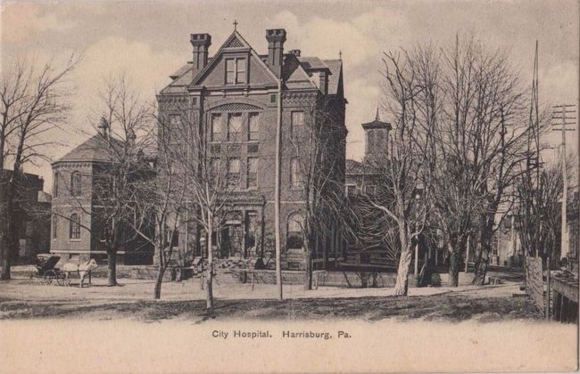 <i>City Hospital, Harrisburg, Pa.</i> image. Click for full size.