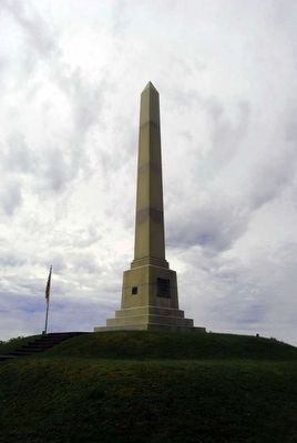 Battle of Newtown Monument image. Click for full size.