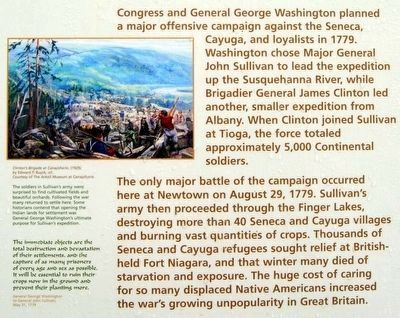 The Sullivan Campaign Marker image. Click for full size.