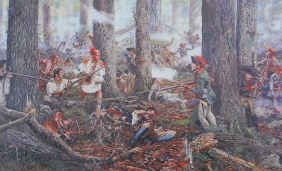 <i>Oneidas at the Battle of Oriskany</i> by Don Trolani (2005) image. Click for full size.