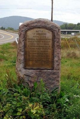 Battle of Chemung Monument image. Click for full size.
