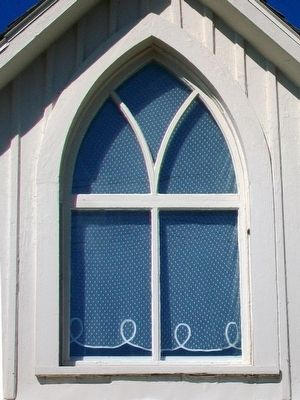The American Gothic House Window image. Click for full size.