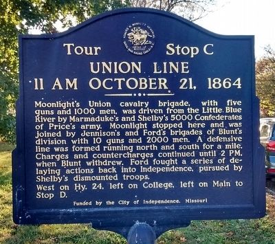 Union Line Marker image. Click for full size.