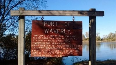 Port of Waverly Marker image. Click for full size.