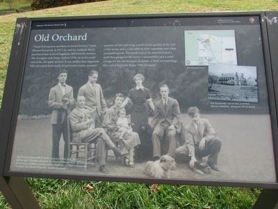 Old Orchard Marker image. Click for full size.