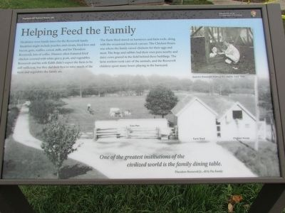 Helping Feed the Family Marker image. Click for full size.