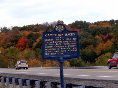 Camptown Races Marker image. Click for full size.