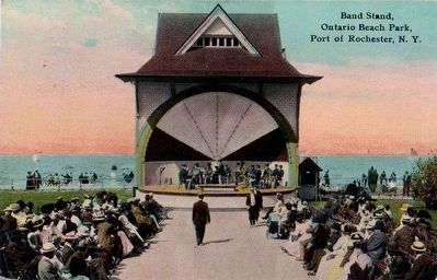 <i>Band Stand, Ontario Beach Park, Port of Rochester, N.Y.</i> image. Click for full size.