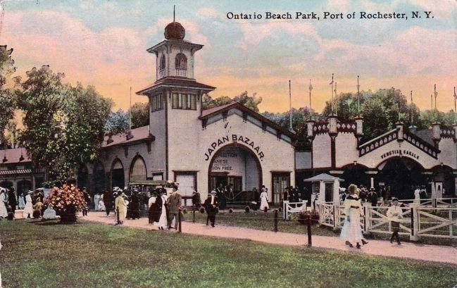 <i>Ontario Beach Park, Port of Rochester, N.Y.</i> image. Click for full size.