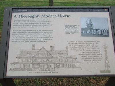 A Thoroughly Modern House Marker image. Click for full size.
