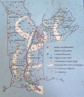 Battle for the Mississippi: The Vicksburg Campaign Map image, Touch for more information