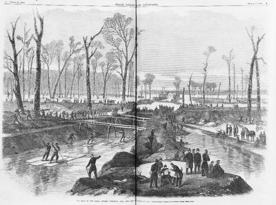 Digging the canal at Vicksburg image. Click for full size.