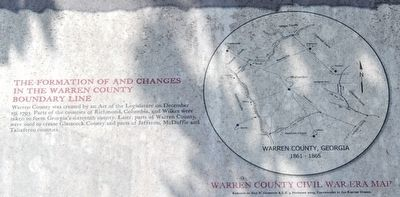 Early History of Warren County Marker - Center Section 1 image. Click for full size.