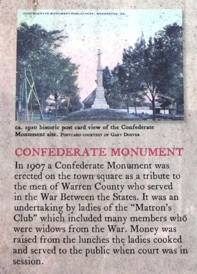 Early History of Warren County Marker - Left Sidebar Bottom image. Click for full size.