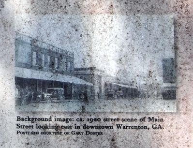 Early History of Warren County Marker - Right Sidebar Bottom image. Click for full size.