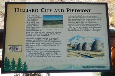 Hilliard City and Piedmont Plaque image. Click for full size.
