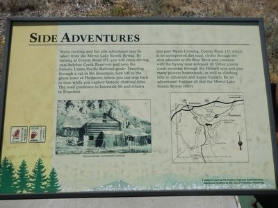 Side Adventures Plaque image. Click for full size.