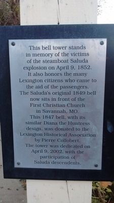 Bell Tower Plaque image. Click for full size.