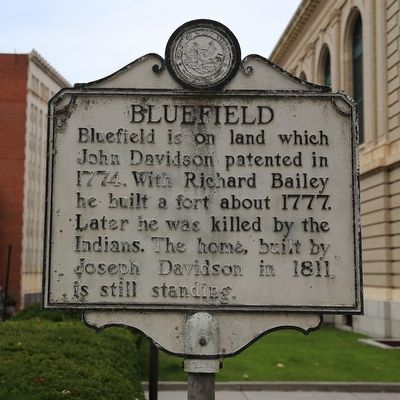 Bluefield Marker image. Click for full size.
