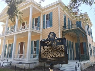 House and another nearby marker about the area. image. Click for full size.