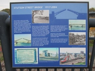 Stutson Street Bridge Marker image. Click for full size.