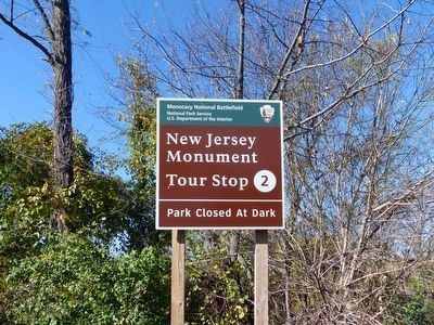 New Jersey Monument image. Click for full size.