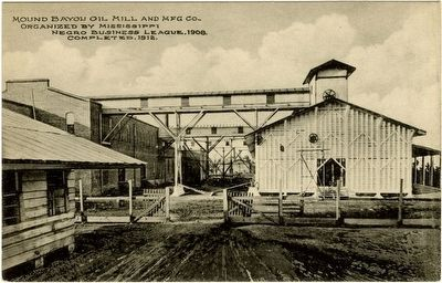 Mound Bayou Oil Mill & Manufacturing Company (Postcard) image. Click for full size.