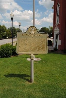 Glascock County Marker image. Click for full size.