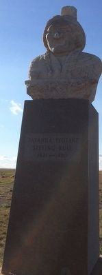 Sitting Bull Monument image. Click for full size.
