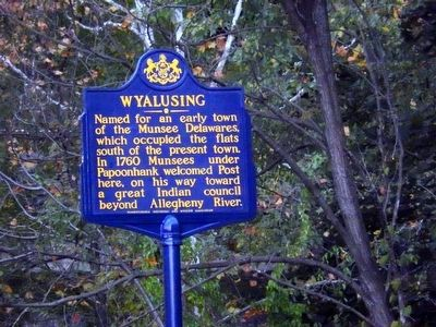 Wyalusing Marker image. Click for full size.