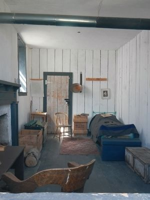 The clerk's sleeping quarters. image. Click for full size.