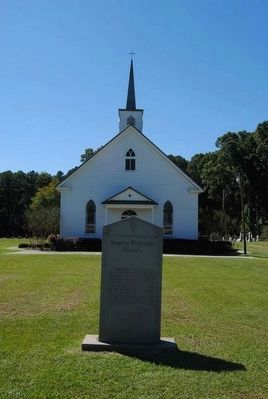 Smyrna Methodist Church Marker image. Click for full size.