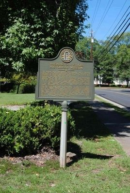 Washington-Wilkes Historical Museum Marker image. Click for full size.