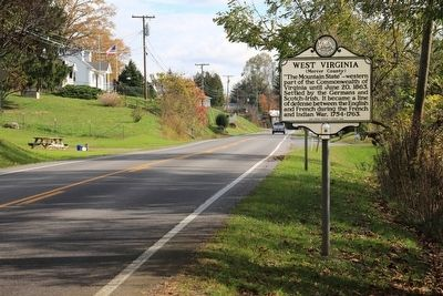 West Virginia / Mercer County Marker image. Click for full size.