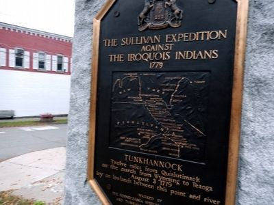 Sullivan Expedition Against the Iroquois Indians, 1779 Marker image. Click for full size.