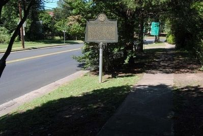 Historic Dugas Home Marker image. Click for full size.