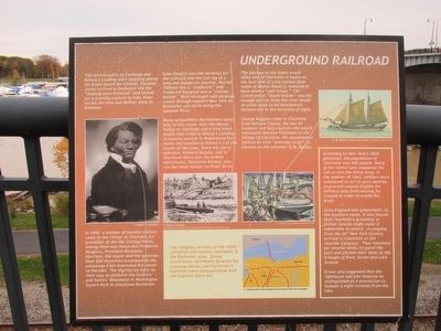 Underground Railroad Marker image. Click for full size.