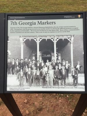 7th Georgia Markers Marker image. Click for full size.