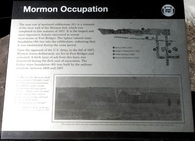 Mormon Occupation Marker image. Click for full size.