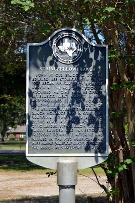 Stringfellow Ranch Marker image. Click for full size.