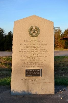 Bryant Station Marker image. Click for full size.