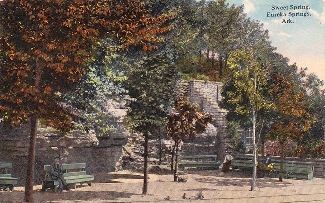 <i>Sweet Spring, Eureka Springs, Ark.</i> image. Click for full size.