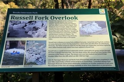 Russel Fork Overlook Marker image. Click for full size.