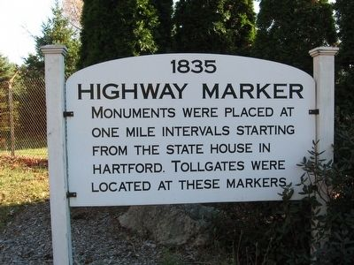 1835 Highway Marker image. Click for full size.