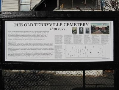 The Old Terryville Cemetery Marker image. Click for full size.