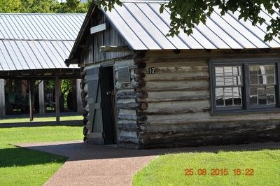 Loom House (One-Room Log Cabin) image. Click for full size.