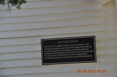 Doctor's Office Marker image. Click for full size.